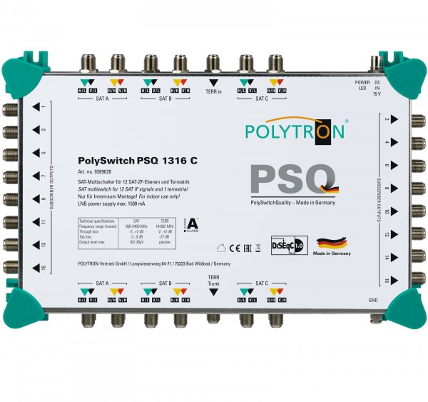 PSQ 1316 C